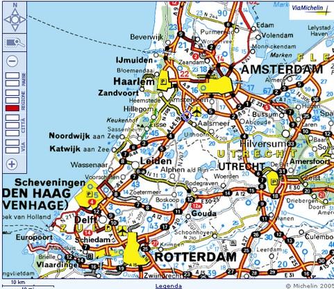 Olanda la regione dei tulipani in bici l 39 itinerario for Affitto bici amsterdam